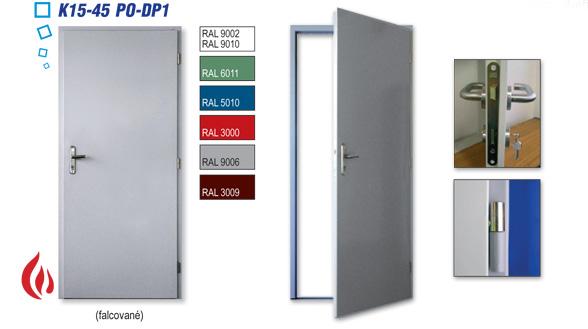 protipožární dveře z oceli