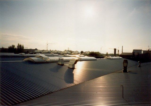 střecha plecha danone